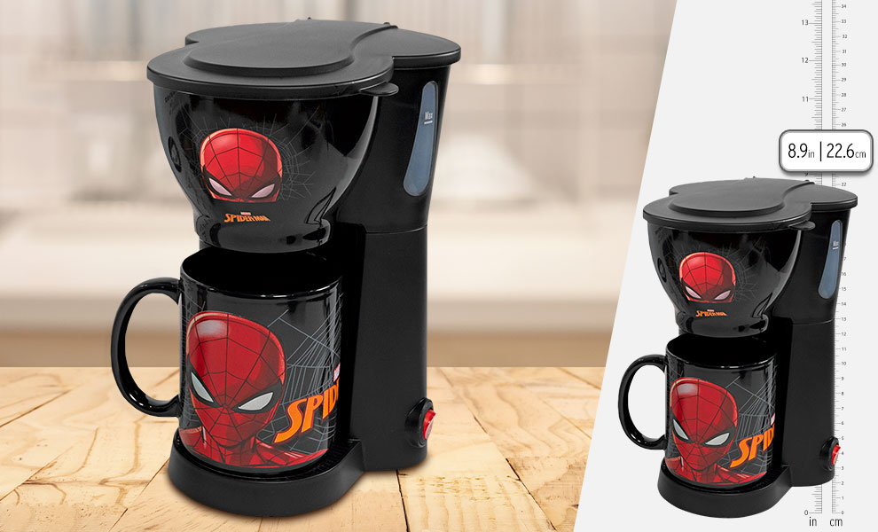 Gallery Feature Image of Spider-Man Single Cup Coffee with Mug Kitchenware - Click to open image gallery