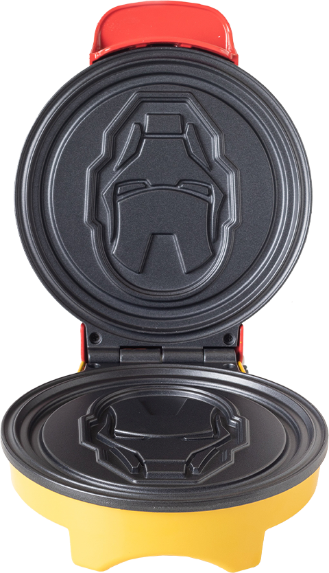 Uncanny Brands, LLC Iron Man Waffle Maker Kitchenware