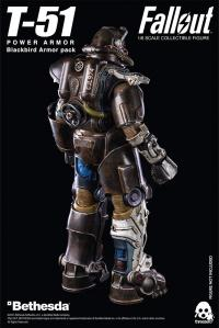 Gallery Image of T-51 Blackbird Armor Pack Sixth Scale Figure Accessory