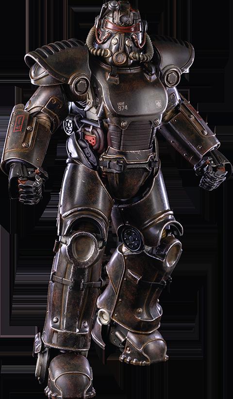 Threezero T-51 Blackbird Armor Pack Sixth Scale Figure Accessory