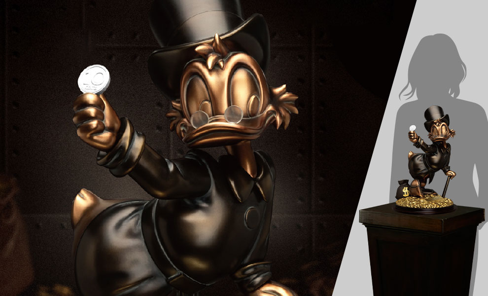 Gallery Feature Image of Scrooge McDuck (Special Edition) Statue - Click to open image gallery