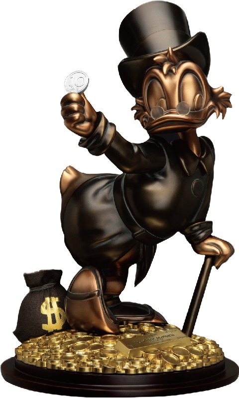 Beast Kingdom Scrooge McDuck (Special Edition) Statue