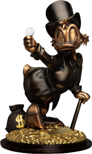 Scrooge McDuck (Special Edition) Statue