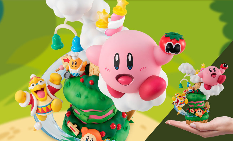 Gallery Feature Image of Kirby Super Star Gourmet Race Collectible Figure - Click to open image gallery