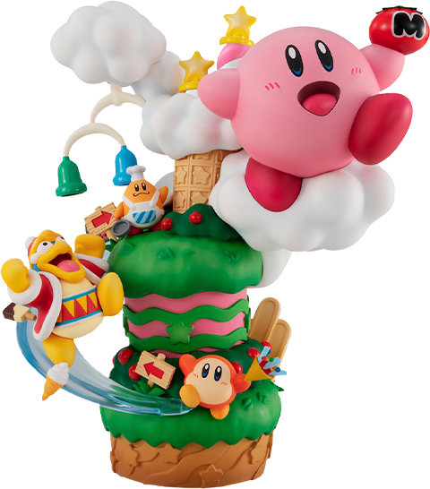 MegaHouse Kirby Super Star Gourmet Race Collectible Figure