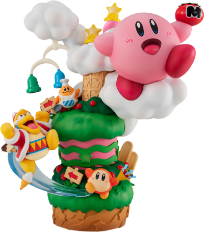 Kirby Super Star Gourmet Race Collectible Figure