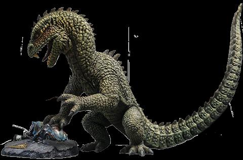 Star Ace Toys Ltd. Rhedosaurus (Color Version) Deluxe Statue