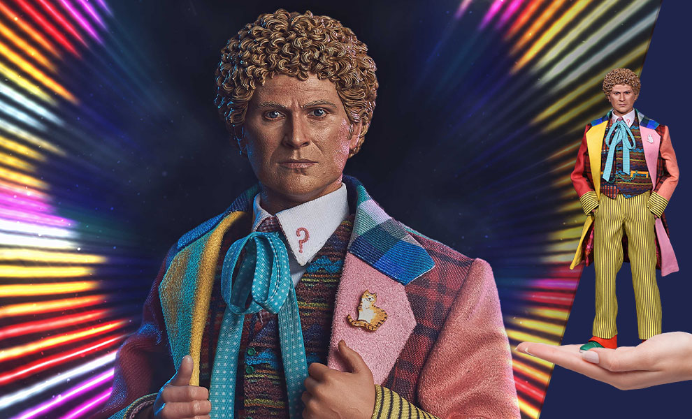 Gallery Feature Image of Sixth Doctor Sixth Scale Figure - Click to open image gallery