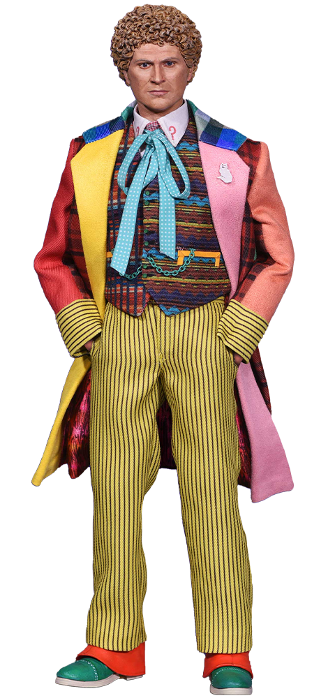 BIG Chief Studios Sixth Doctor Sixth Scale Figure