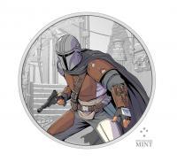 Gallery Image of The Mandalorian 1oz Silver Coin Silver Collectible