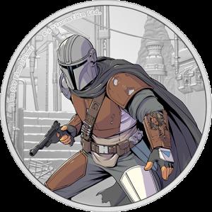 The Mandalorian 1oz Silver Coin Silver Collectible