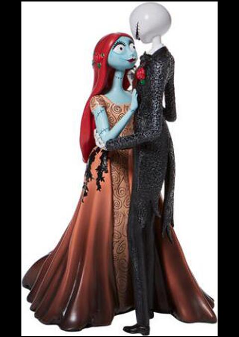 Enesco, LLC Jack and Sally Couture de Force Figurine