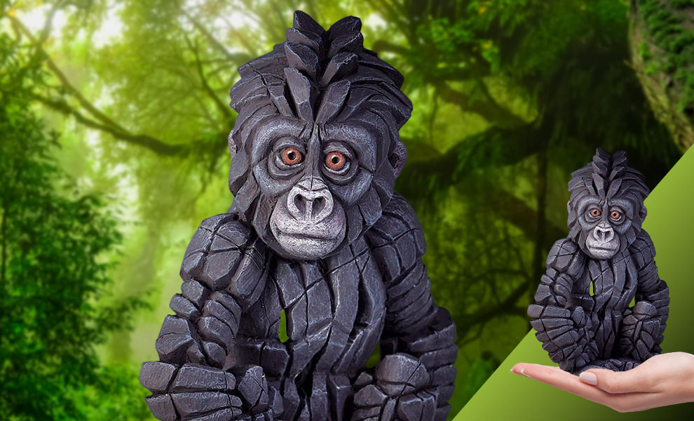 Gallery Feature Image of Baby Gorilla Figurine - Click to open image gallery