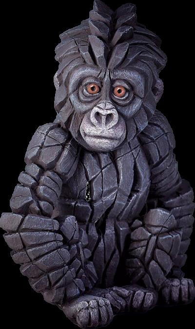 Baby Gorilla Figurine