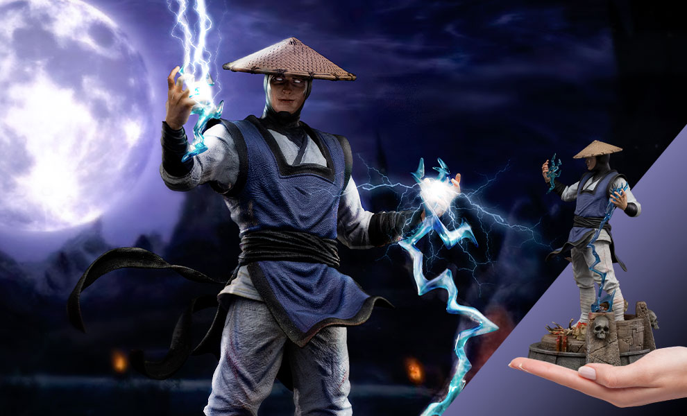 Gallery Feature Image of Raiden 1:10 Scale Statue - Click to open image gallery