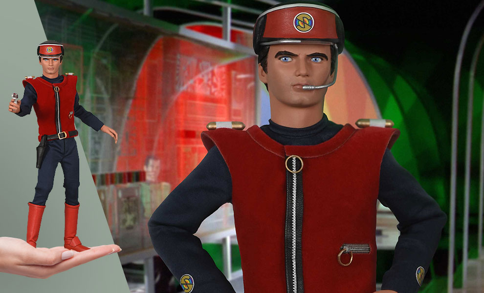 Gallery Feature Image of Captain Scarlet Sixth Scale Figure - Click to open image gallery