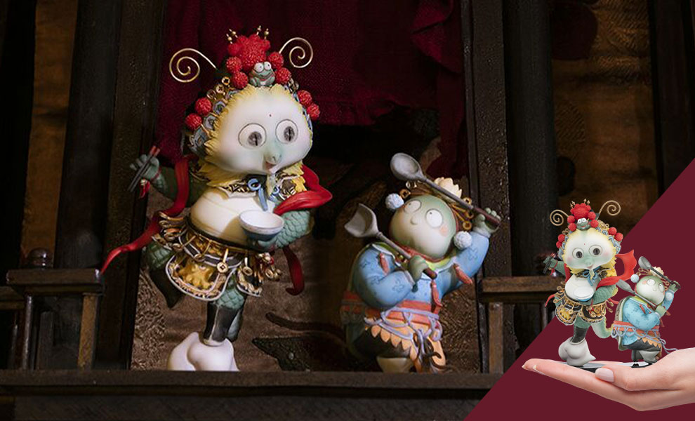Gallery Feature Image of Farewell My Concubine Figurine - Click to open image gallery
