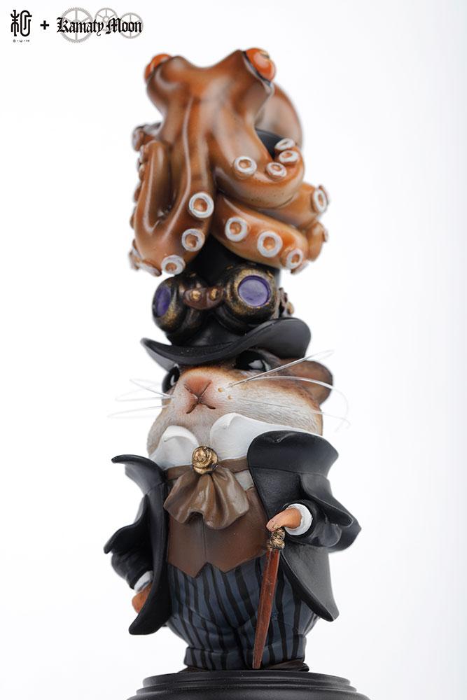 "Details about  /Manas x Kamata Original Design/""Octopus /& Hum/"" Brown Ver."