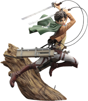 Eren Yeager (Renewal Package Variant) Statue