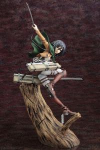 Gallery Image of Mikasa Ackerman (Renewal Package Variant) Statue