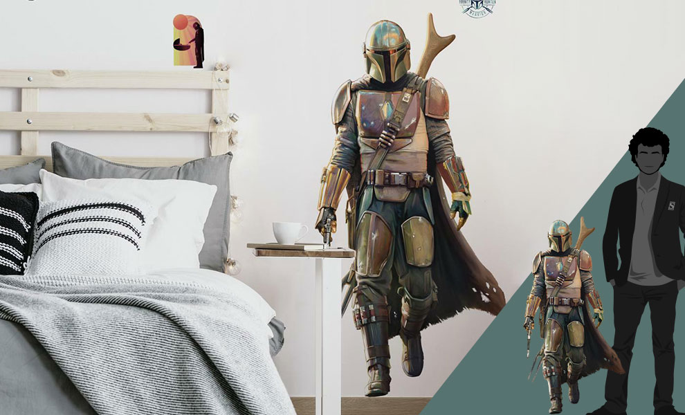 Gallery Feature Image of The Mandalorian Wall Decal Decal - Click to open image gallery
