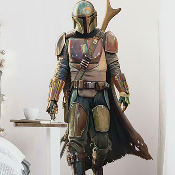 The Mandalorian Wall Decal Decal
