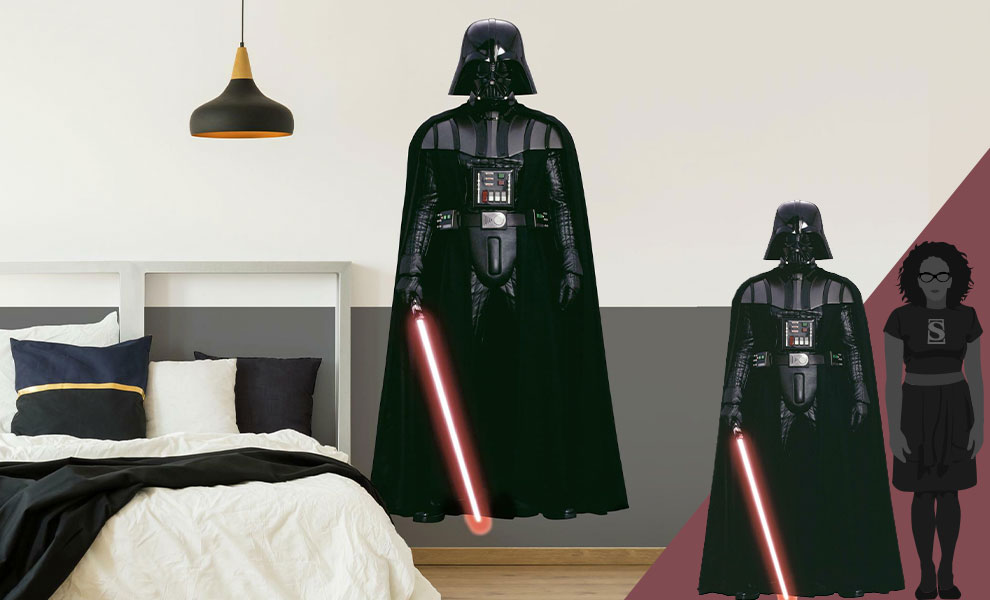 Gallery Feature Image of Darth Vader Wall Decal Decal - Click to open image gallery