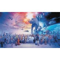 Gallery Image of Star Wars Saga Wallpaper Mural Mural