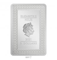 Gallery Image of The Fool Silver Coin Silver Collectible