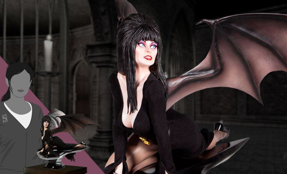 Gallery Feature Image of Elvira Masterpiece Statue - Click to open image gallery