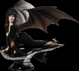 Elvira Masterpiece Statue