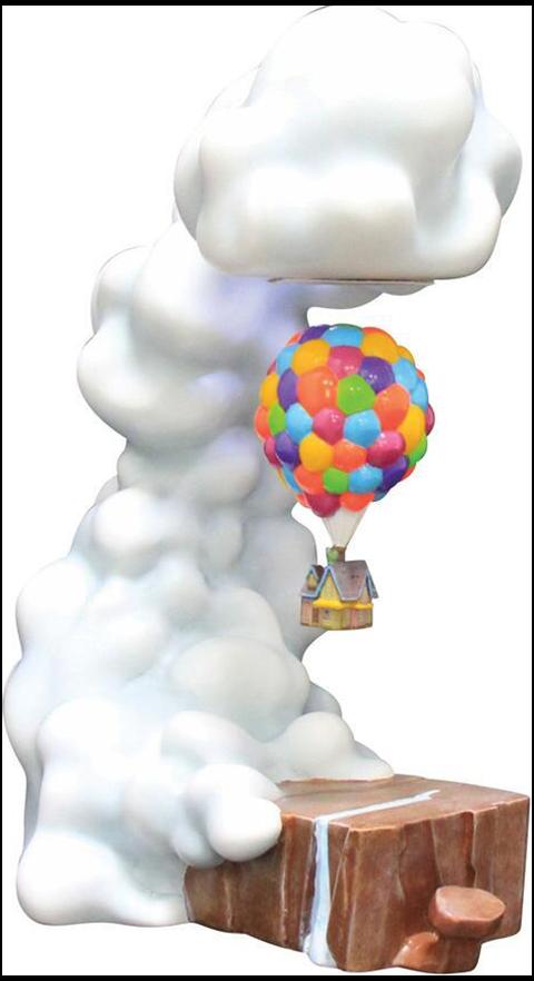 Grand Jester Studios Pixar's Up Levitating House Statue