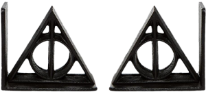 Deathly Hallows Bookends Office Supplies