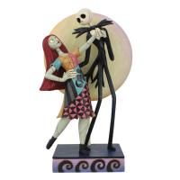 Gallery Image of Jack and Sally Romance Figurine