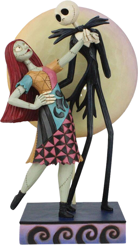 Enesco, LLC Jack and Sally Romance Figurine