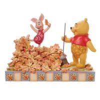 Gallery Image of Pooh and Piglet Fall Figurine