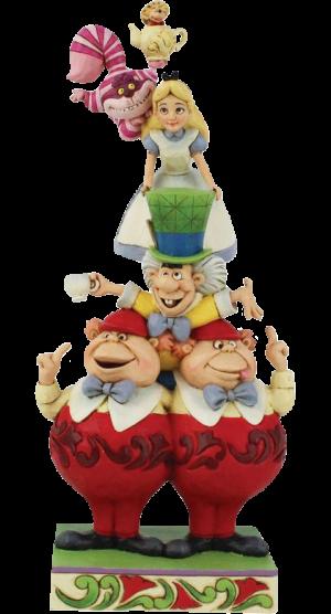 Alice in Wonderland Stacked Figurine