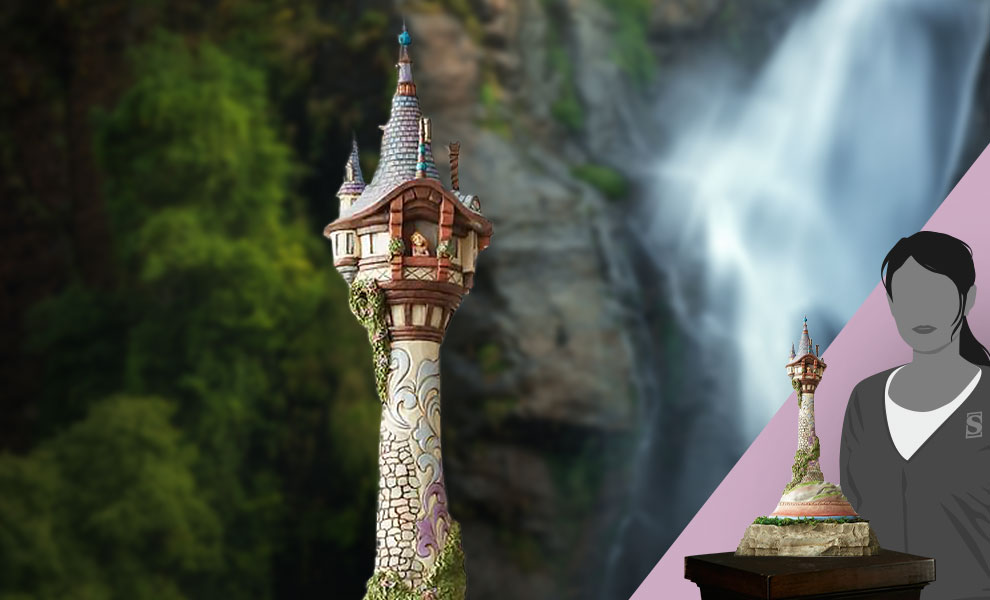 Gallery Feature Image of Masterpiece Rapunzel Tower Figurine - Click to open image gallery