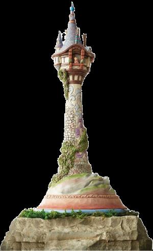 Masterpiece Rapunzel Tower Figurine