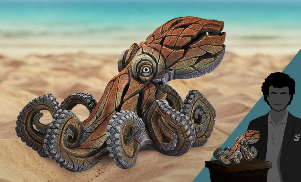 Gallery Feature Image of Octopus Figurine - Click to open image gallery