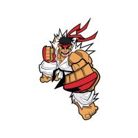 Gallery Image of Ryu Collectible Pin