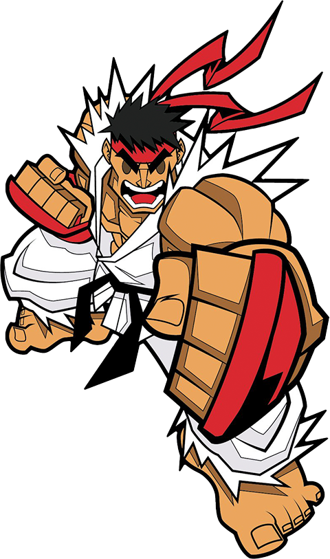 Icon Heroes Ryu Collectible Pin