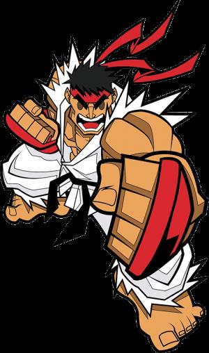 Ryu Collectible Pin