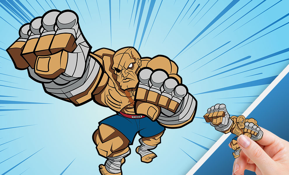 Gallery Feature Image of Sagat Collectible Pin - Click to open image gallery