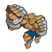 Gallery Image of Sagat Collectible Pin