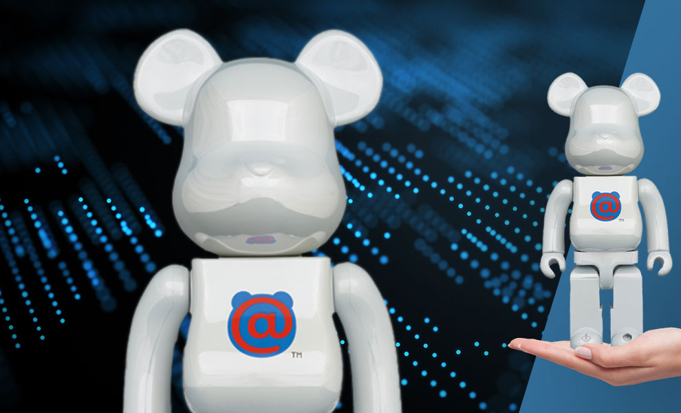 Gallery Feature Image of Be@rbrick 1st Model White Chrome 400% Bearbrick - Click to open image gallery