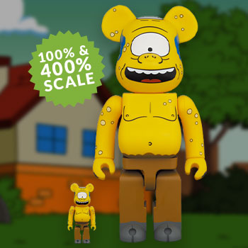 Be@rbrick Simpsons Cyclops 100% & 400% Collectible Set