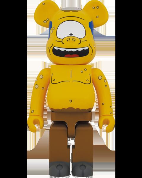 Medicom Toy Be@rbrick Simpsons Cyclops 1000% Bearbrick