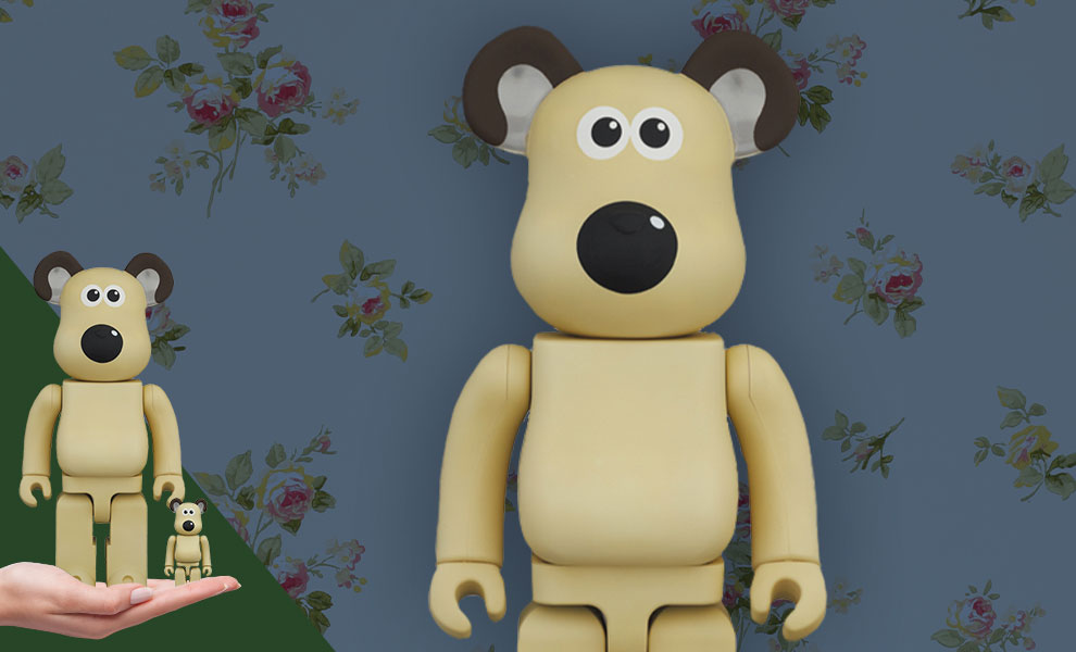Gallery Feature Image of Be@rbrick Gromit 100% and 400% Bearbrick - Click to open image gallery