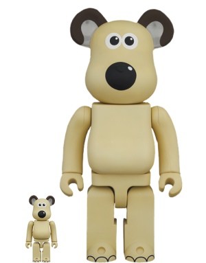Be@rbrick Gromit 100% and 400% Bearbrick